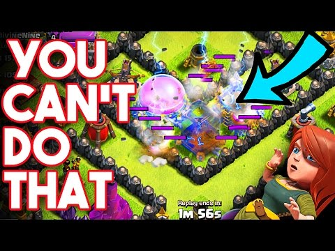 AGAINST THE RULES  - Clash of Clans -  This guy Doesnt Know the Rules  - UPGRADING TH9
