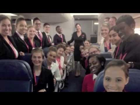 Report to Release - Delta Air Lines Flight Attendant Training Song