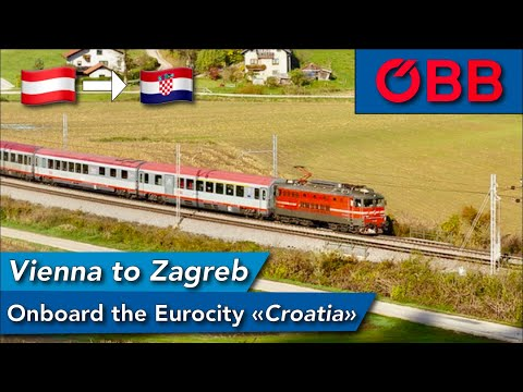 The STUNNING experience of traveling between Austria and Croatia with ÖBB Eurocity
