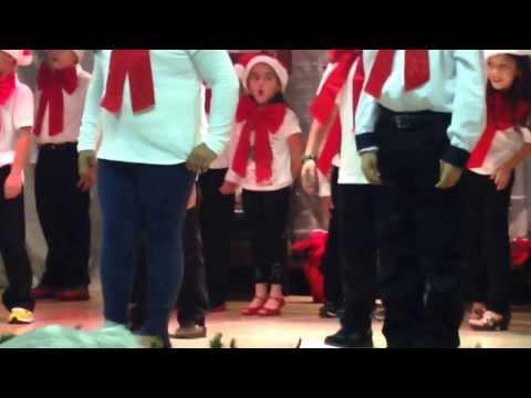 Banyan elementary school Christmas show