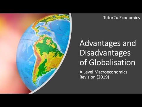 Advantages And Disadvantages Of Globalisation