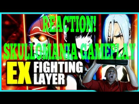 EX Fighter Layers - Reaction - Skullomania Gameplay - ZeroHyperGaming - VGH Video Gamers Hawaii 808