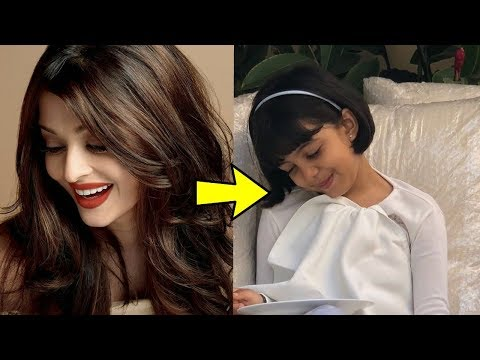 Aaradhya Bachchan has started looking exactly like her mom Aishwarya Rai Bachchan Omg !Checkout