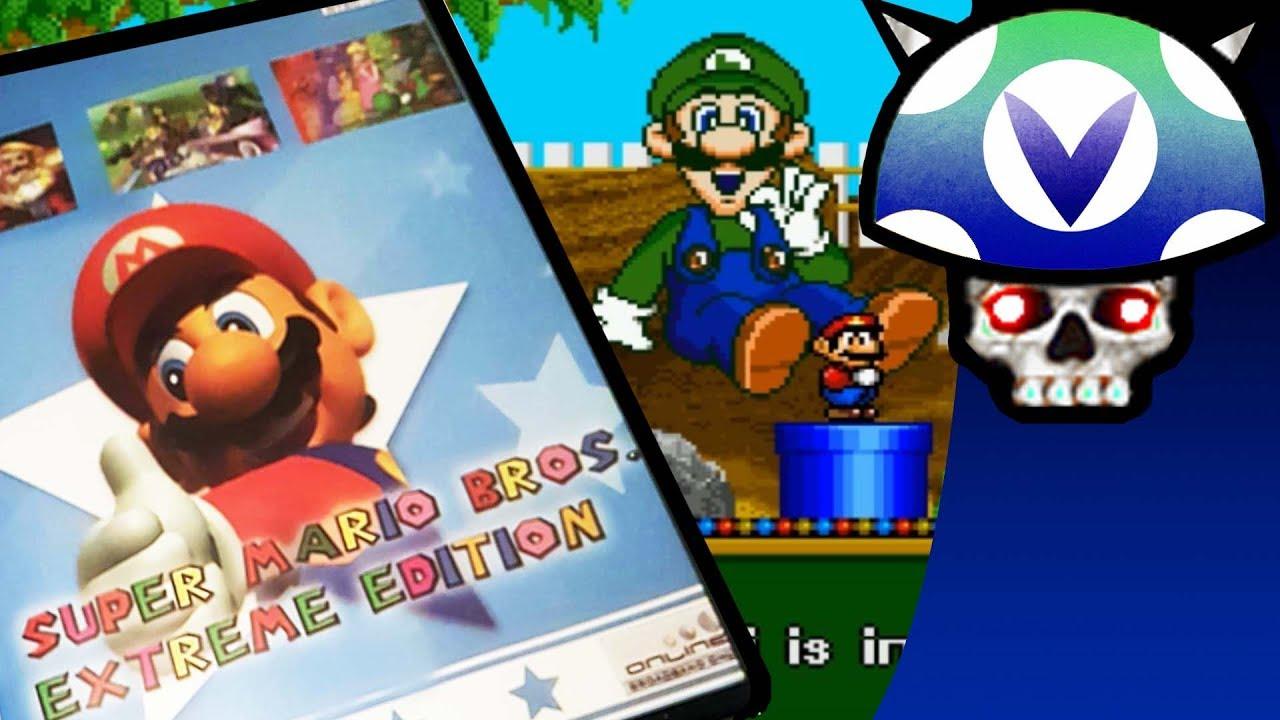 f25361322b7f Vinesauce  Joel - Super Mario Bros Extreme Edition ( PS2 Bootleg ...