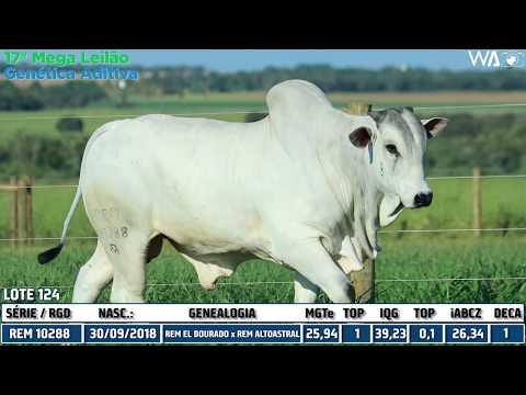 LOTE 124 - REM 10288 - 17º Mega Leilão Genética Aditiva 2020