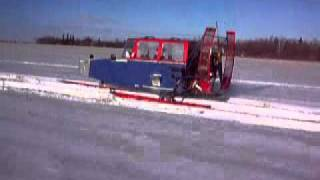 snowplane in Thief River Falls Minnesota
