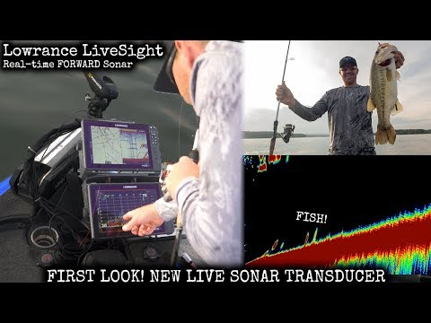 FIRST LOOK! Lowrance LiveSight real-time Sonar