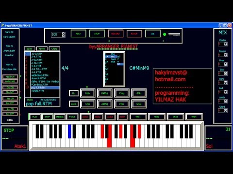 byyARRANGER Pianist PRO (programming YILMAZ HAK)