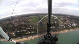 Microlight Steep Fast Landing