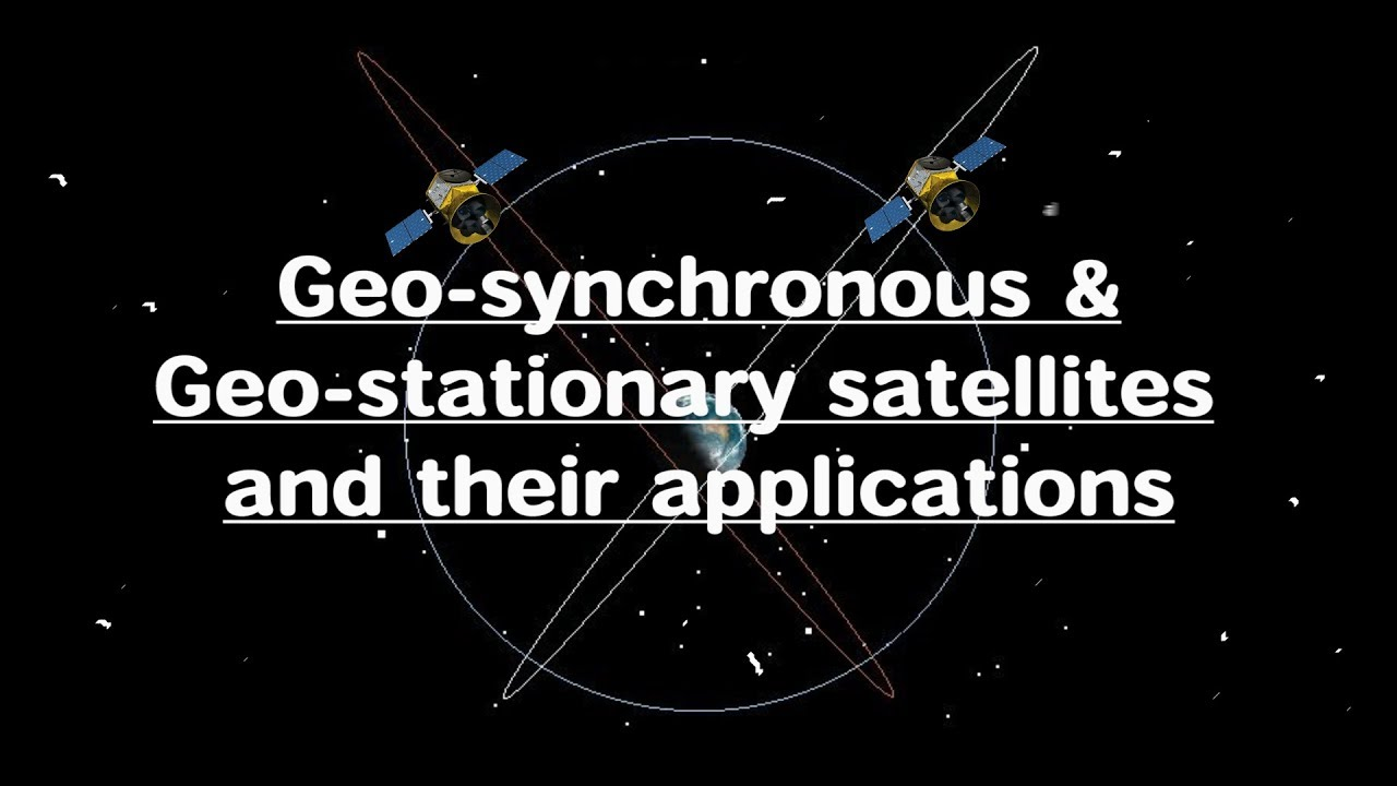 An analysis of geosychronous orbits and geostationary orbits