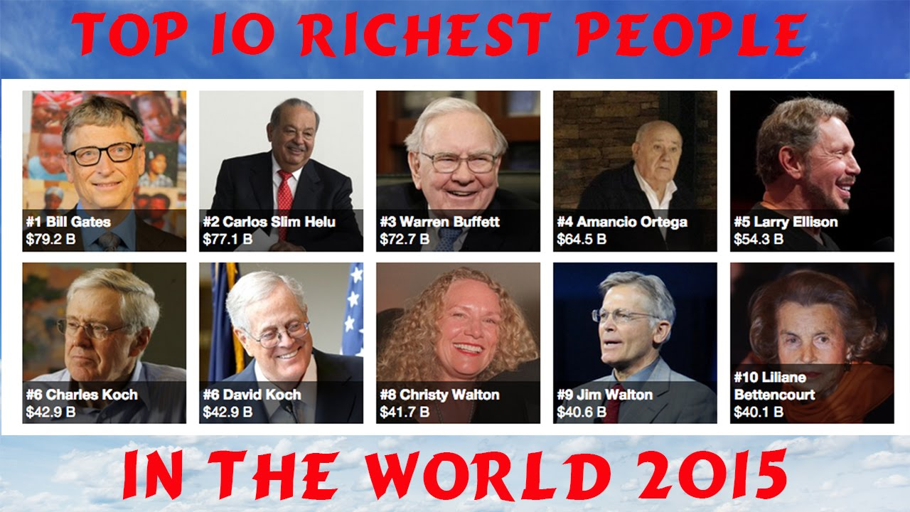 if i was a richest person of in the world Compiled by forbes magazine, this a list of the wealthiest people ever (evar)   when he was much older, he was known for giving money away wherever he.