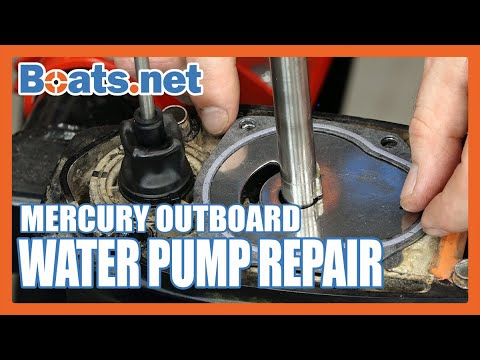 How to Replace a Water Pump on a Mercury 40 | Mercury 40HP Water Pump Replacement | Boats.net