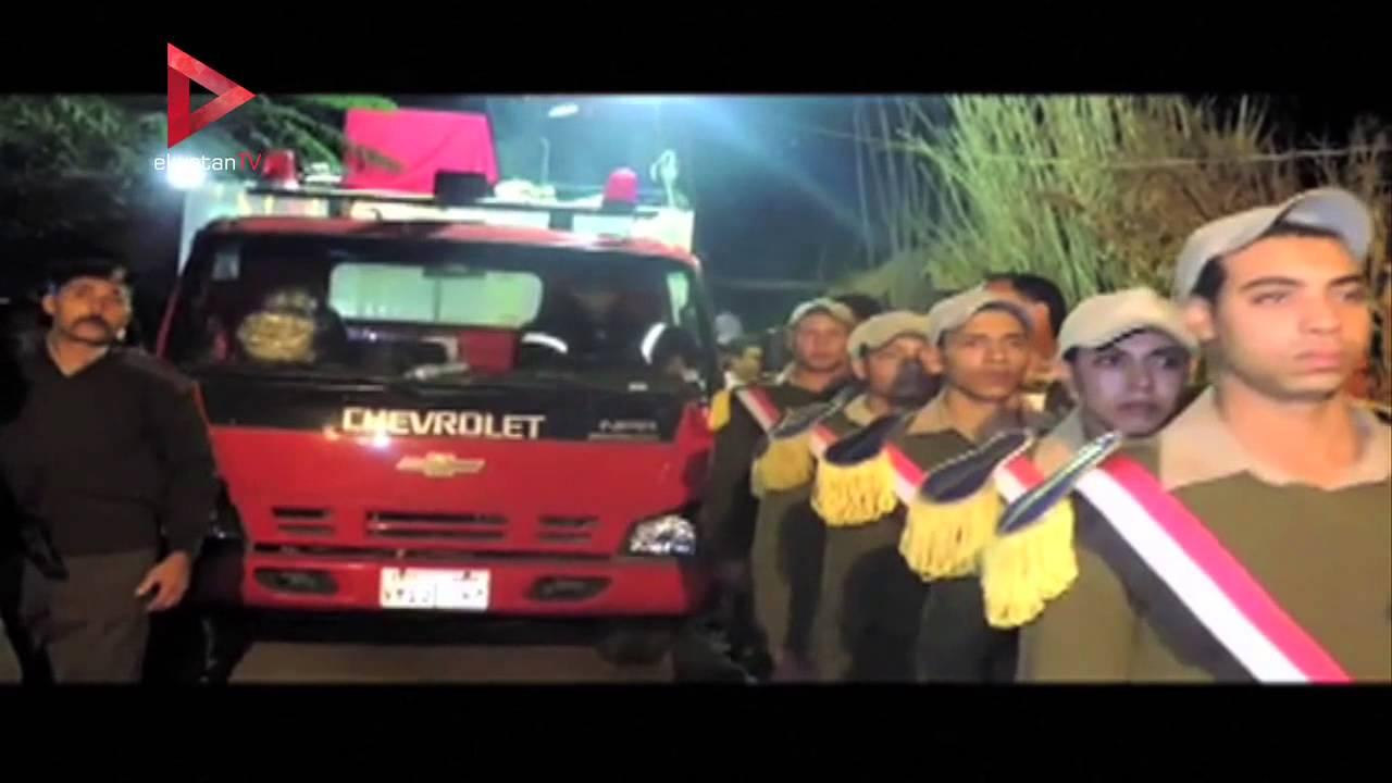 الوطن المصرية: تشييع جنازة شهداء الشرطة في هجوم سقارة