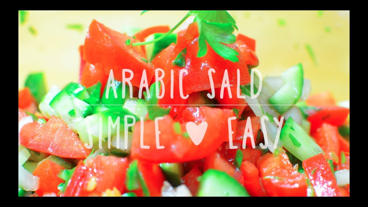 Easy arabic salad recipes