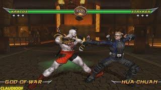 [TAS] Mortal Kombat Armageddon KRATOS (God of War 3) (VERY HARD)  (WII)