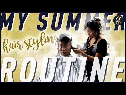 MY HAIR ROUTINE | Short Asian Hair Tutorial For Men | Summer 2018