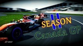 今回のF12017シーズン2は、第7戦カナダGP決勝になります! 今回も楽しん...