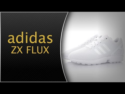 ADIDAS ZX FLUX WHITE | UNBOXING AND ON FEET