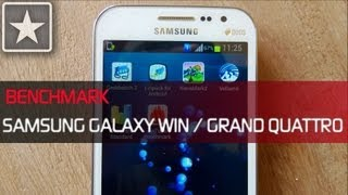 ★ Galaxy Win / Grand Quattro | Benchmarking Review