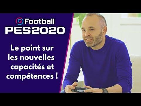 PES 2020 : Le point sur les nouvelles compétences ! (Agressivité, Dribble en finesse, Inspire)