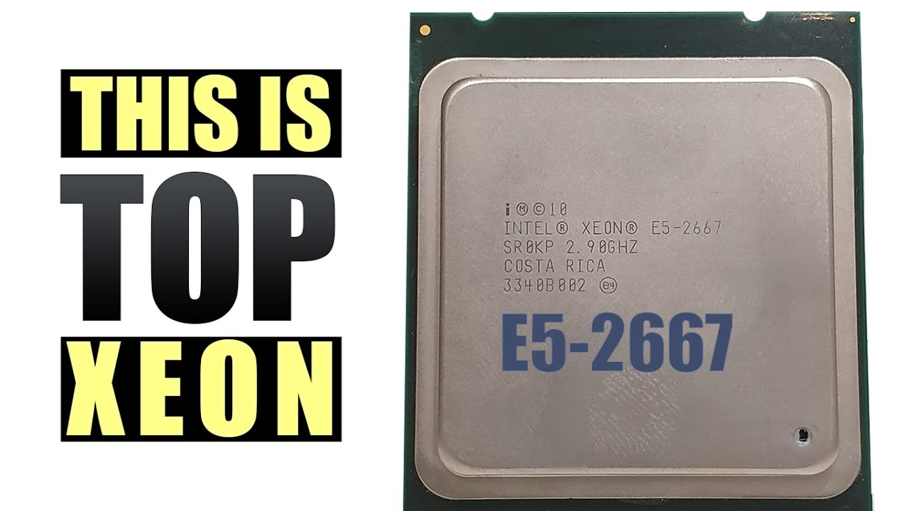 NEW TOP INTEL XEON E5-2667 FOR 35$