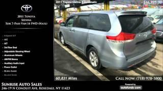 Used 2011 Toyota Sienna | Sunrise Auto Sales, Rosedale, NY
