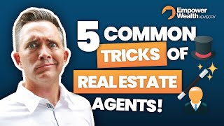 Buyers Beware! Five common tricks real estate agents user - Buyers Agent Tips from Bryce Holdaway