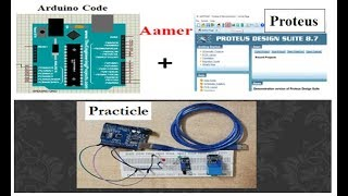 Digital Read and Write in Arduino -#03 Proteus Simulation+Practicle+Code.