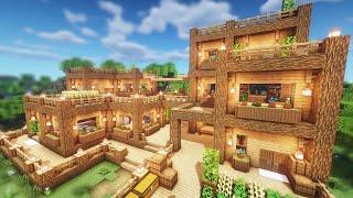 Simple Fortress Survival Base Tutorial - Minecraft Tutorial #22