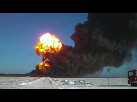 The Casselton Train Derailment And Fire 5 Years Later