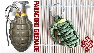 How to Make a Paracord Grenade Key Fob Tutorial