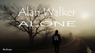 Gambar cover Alan Walker - Alone (Lyrics Video with running text and original audio)