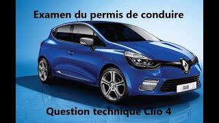 Examen permis de conduire 2018 Questions techniques