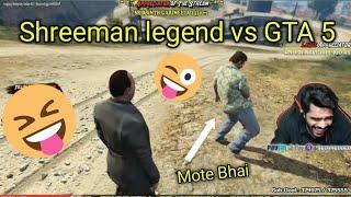 GTA 5 FUNNY MOMENTS | Shreeman legend playing GTA