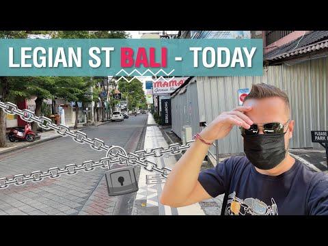 Bali Legian Street Today!