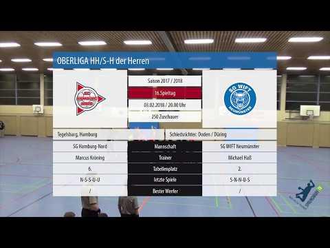 Oberliga HH/S-H | Herren | 17/18 | SG Hamburg-Nord vs. SG WIFT NMS | Spielbericht | SPRUNGWURF.TV