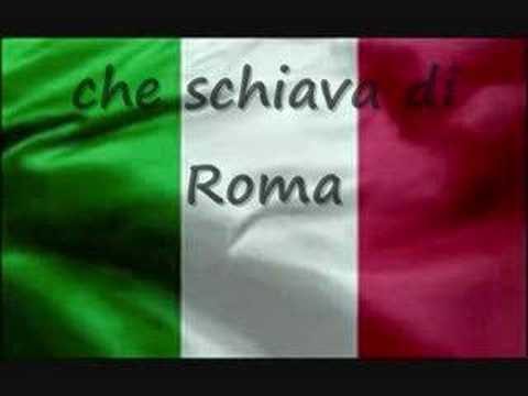 Fratelli d italia - ( Inno di Mameli ) - lyrics