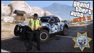 GTA 5 ROLEPLAY - POLICE RAPTOR CATCHES FIRE - EP. 550 - LEO