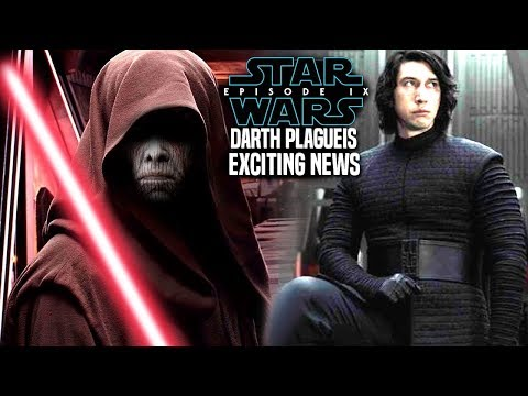 Star Wars Episode 9 Darth Plagueis! Exciting News Revealed (Star Wars News)