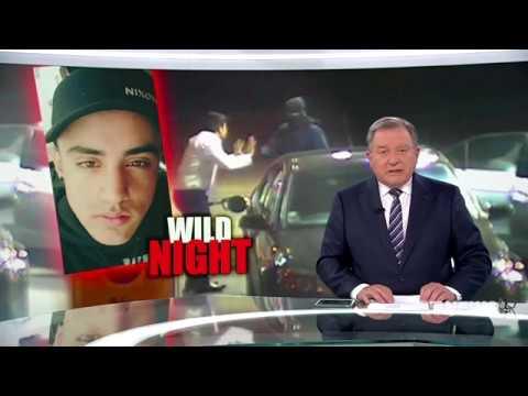 Nine News. Wild Night. (Middle East Gang Night Crime Rampage)