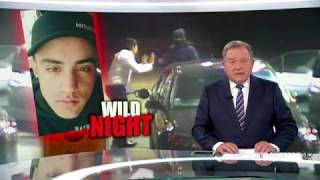 Nine News. Wild Night. (Middle East Gang Night Crime Rampage)