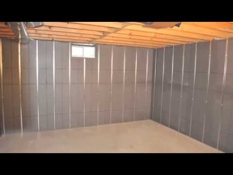 Basement finishing ideas youtube Diy basement finishing ideas