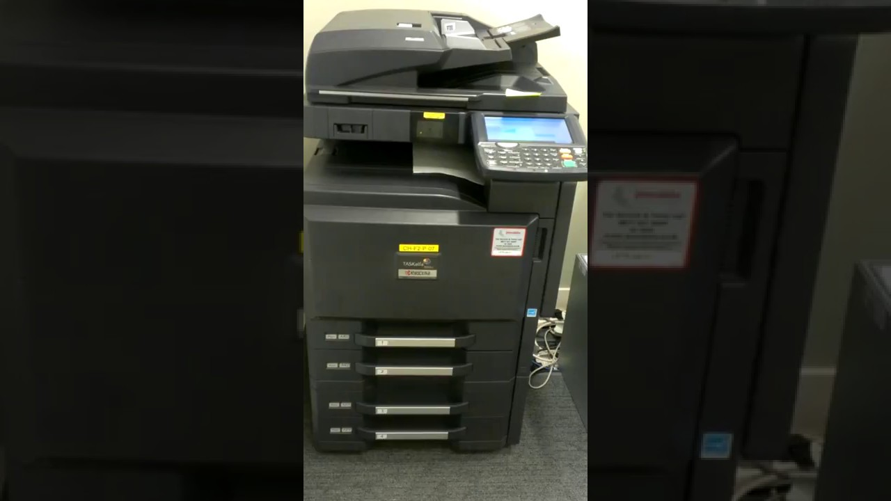Kyocera taskalfa 3051 ci error unit inner tray is full of paper