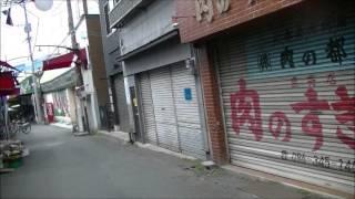 熊本地震(4/19)熊本市子飼商店街の状況ーまだ閉店が大半、シャッター街に.