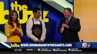 DRINKING WITH THE SAINTS How to Make a Brandy Milk Punch