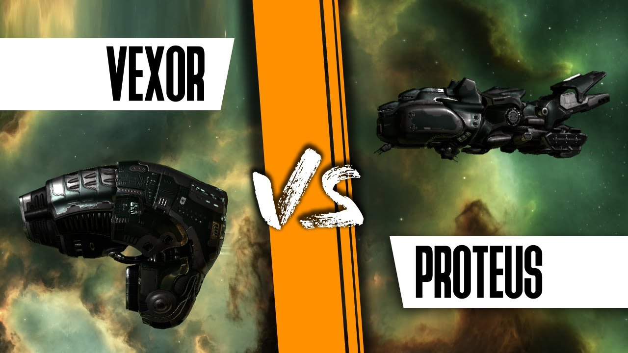 Cloaky PvP Scanner Proteus fit vs Vexor, DESTROYED