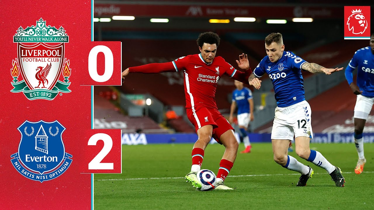 Highlights: Liverpool 0-2 Everton   Reds beaten at Anfield