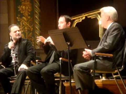 Clarinetist David Krakauer and Cantor Daniel Gross at the Detroit Symphony Orchestra