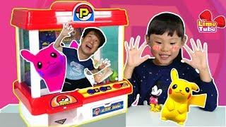 포켓몬 크레인 인형뽑기 장난감으로 게임하기 | 서프라이즈 에그 뽀로로 놀이