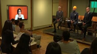NDP Leadership Candidates on Free Speech